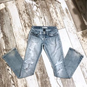 ZCO Distressed Light wash Jeans